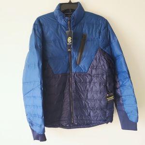 NWT Men's Champion C9 blue puffer Jacket
